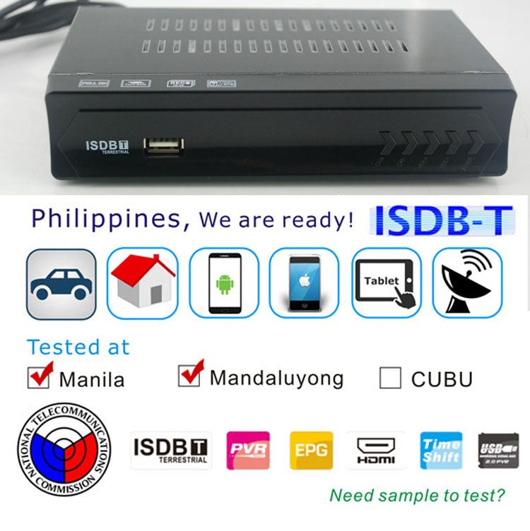 Philippines HDMI Home ISDB-T Receiver