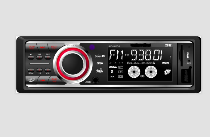 VCAN0793 Car USB SD MP3 Player with Bluetooth and DAB