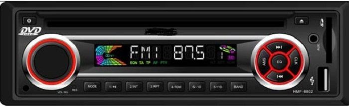 VCAN0814 Car USB SD MP3 player with Bluetooth DAB