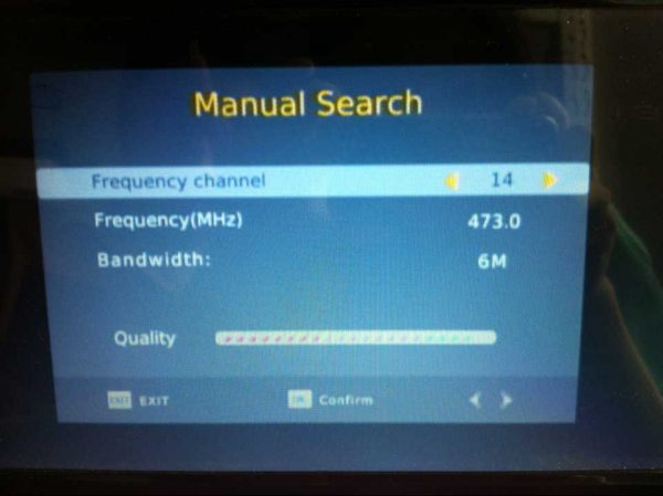 VCAN1116 10 inch portable ATSC LCD TV monitor 2015 HD FTA digital TV receiver decoder tuner with ant