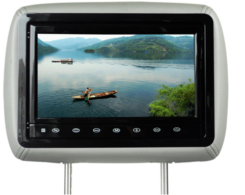 10.1 inch headrest LCD monitor for car USB SD HDMI player