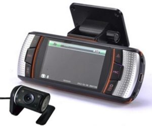Driving recorder with GPS with External Camera