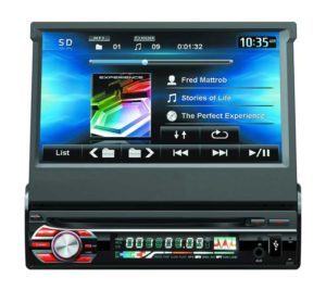 7inch 1 din car DVD player with digital touchscreen