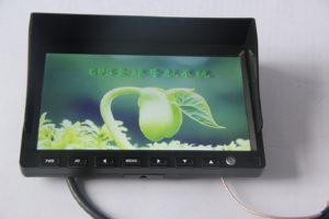 7 INCH Touch screen Windosce6.0 Monitor With GPS
