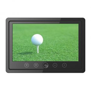 7inch lcd monitor with 2way audio input ir stereo transmitter and frame