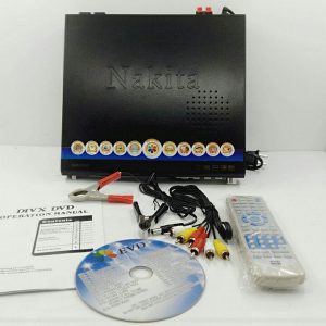 DVD player for home use with led display 12v