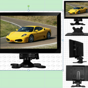 9 inch HDMI touch monitor with USB