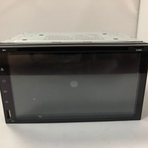 6.95 inch 2 din car DVD player with digital touchscreen VCAN1628