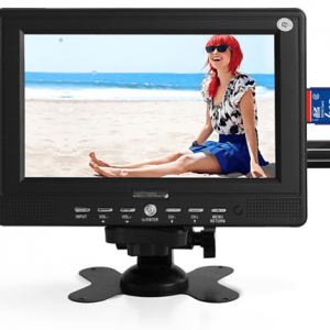 """7"""" 16:9 TFT ALL SYSTEM TV with SD/USB VCAN1561"""