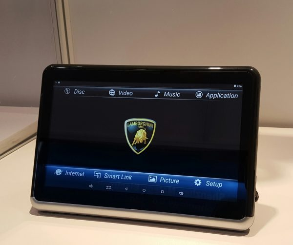 10.1 Inch Android Tablet With DVD Player VCAN1515