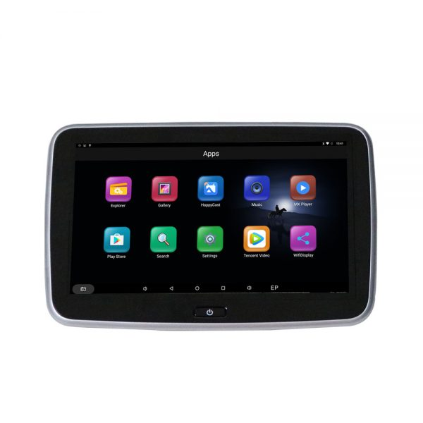 Android Headrest Player 10.1 inch IPS HD Monitor With WiFi Speaker Bluetooth FM transmitter Seat Touch Screen 12V 2PCS Pair VCAN1546